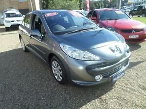 2008 Peugeot 207 XT Silver 4 Speed Automatic Hatchback Sylvania Sutherland Area Preview