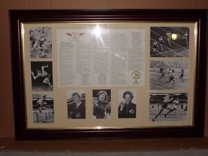 OLYMPIC LEGENDS MEMORABILIA BULK LOT SIGNED RARE ITEMS Springfield Lakes Ipswich City Preview