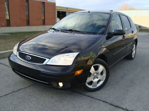 2007 FORD FOCUS SES HATCHBACK SNOW TIRES''GST INCLUDED'''' West Island Greater Montréal image 1