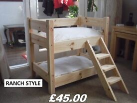 CUTEST SOLID PINE BEDS FOR YOUR CATS OR DOGS---CAN DELIVER MAINLAND UK