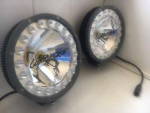 LIGHTFORCE HTX  HYBRID 70W HID LED 12V DRIVING LIGHTS WITH WIRING HARN