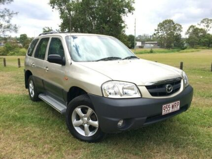 2004 Mazda Tribute MY2004 Limited Traveller Gold 4 Speed Automatic Wagon Springwood Logan Area Preview