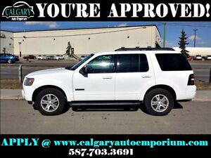 2008 Ford Explorer XLT4x4 $99 DOWN EVERYONE APPROVED