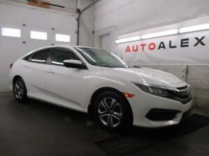 2016 Honda Civic LX 25,000KM CAMERA A/C SIÉGES CHAUFF. *41$/SEM*