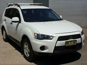 2011 Mitsubishi Outlander ZH MY12 LS (FWD) White 6 Speed CVT Auto Sequential Wagon Riverstone Blacktown Area Preview