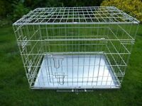 Medium Dog Cage / Dog Crate AS NEW