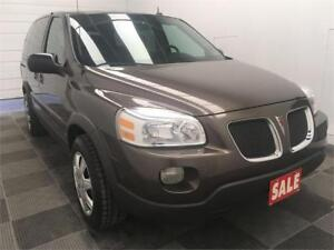 2009 Pontiac Montana SV6 w/1SA Low Mileage! Accident Free!
