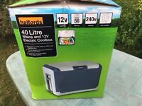 Halfords 40 litre electric cool box