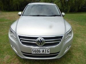 2010 Volkswagen Tiguan 5N MY10 125TSI 4MOTION Silver 6 Speed Sports Automatic Wagon Mount Barker Mount Barker Area Preview