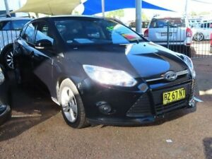 2013 Ford Focus LW MkII Trend PwrShift Panther Black 6 Speed Sports Automatic Dual Clutch Hatchback Mount Druitt Blacktown Area Preview
