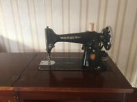 Singer Sewing machine / Electric (1951)- In wooden cabinet for sale Cambridgeshire £50