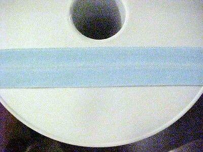 1ab6856aa74 Foldover Elastic Baby Blue 3 4 inch 5 yds Lingerie Baby Headbands Sport