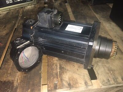 Nachi AC Servo Motor, # MSMA302D7V3, 3.0 kW, 3000 RPM, Used, READ DESCRIPTION