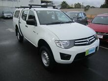 2011 Mitsubishi Triton MN MY11 GLX Double Cab 5 Speed Manual Utility Melrose Park Mitcham Area Preview