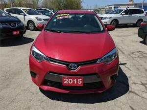 2015 Toyota Corolla LE ***BACK CAM, USB &AUX PORT, HEATED SEATS*