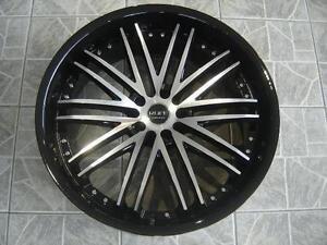 """Kit roues de mag avec pneus neufs 22"""" #M19"""