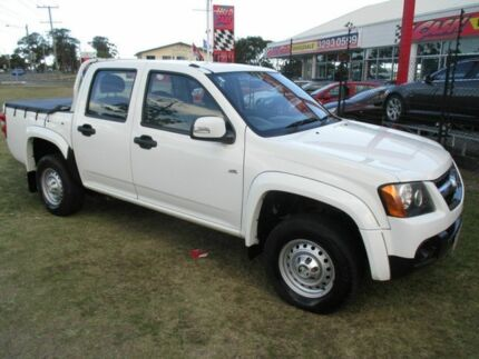 2009 Holden Colorado RC MY09 LX Crew Cab White 5 Speed Manual Utility Kippa-ring Redcliffe Area Preview