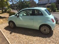 Fiat 500 1.2 Lounge in immaculate condition