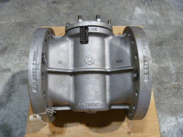 """10"""" Xomox Tufline 316ss Fig 0367 300# Flanged Ptfe Seat Plug Valve Fcty Repaired"""