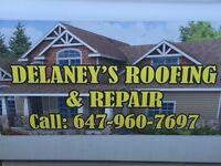 DELANEY ROOFING…..FREE ESTIMATES…. EMERGENCY HELP 24/7