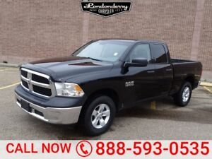 2014 Ram 1500 4WD QUADCAB SXT Accident Free,  A/C,