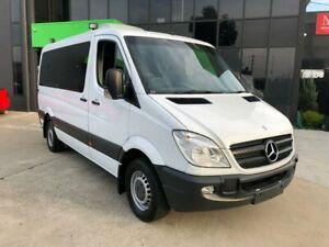 2012 Mercedes-Benz Sprinter 906 MY11 319 CDI MWB White 5 Speed Automatic Van Preston Darebin Area Preview