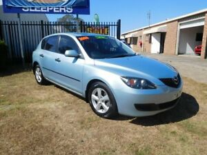 2008 Mazda 3 BK10F2 MY08 Neo Blue 4 Speed Sports Automatic Hatchback Ballina Ballina Area Preview