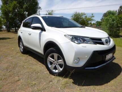 2013 Toyota RAV4 ALA49R Cruiser (4x4) Crystal Pearl 6 Speed Automatic Wagon Miles Dalby Area Preview