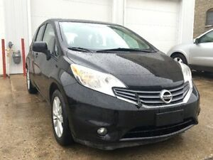 2014 Nissan Versa Hatchback, safetied ,back up camera,push start
