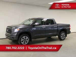 2019 Toyota Tundra CREWMAX PLATINUM 5.7L 4X4; LEATHER, SUNROOF,
