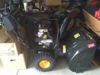 """Poulan Pro PR270 27"""" Snowblower - Only used twice last year."""