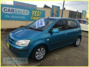 2005 Hyundai Getz TB GL Blue 4 Speed Automatic Hatchback Kogarah Rockdale Area Preview