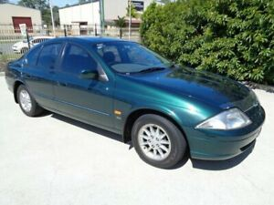 1999 Ford Falcon AU Classic Forte Green 4 Speed Automatic Sedan