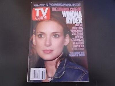 Winona Ryder   Tv Guide Magazine 2002