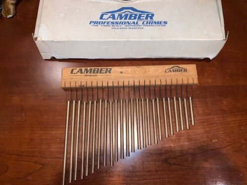 Camber Chimes - Phosphor Bronze set of 24 tubes Single-row Chime Drum Percussion