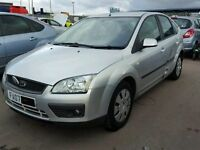 FORD FOCUS 1.6 DIESEL 2007 SILVER BREAKING FOR ALL PARTS