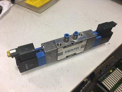 Festo JMVH-5-1/8-B / 30475 Valve w/ MSV-3 119 807 24VDC Solenoid, Used, Warranty