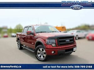 2014 Ford F-150 FX4 LEATHER NAVIGATION HEATED SEATS 4X4