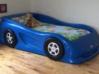 2 X Little Tikes Roaster Car Bed (Blue)