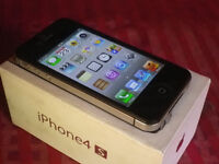 iPhone 4s Black 8bg A Boxed, Exc Condition