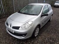 RENAULT CLIO DCI 3 DOOR 1.5 DIESEL 2006 142,00 MILES MOT :9/11/17 £30 ROAD TAX EXCELLENT CONDITION
