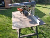 DeWalt DW1251 Radial Arm Saw Power Shop