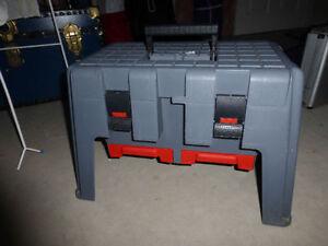 Tuff Stuff Sit n' Stand Tool Box/Stool *Look*