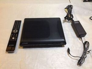TELUS OPTIK TV SET TOP BOX W/ REMOTE (CISCO ISB7100) - MNX