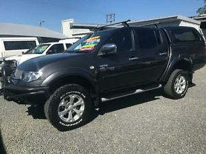 2012 Mitsubishi Triton MN MY12 GLX-R (4x4) Grey & Black 5 Speed Automatic 4x4 Gloucester Gloucester Area Preview