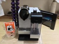 Nespresso Lattissima plus Coffee Maker Delonghi EN520W - White