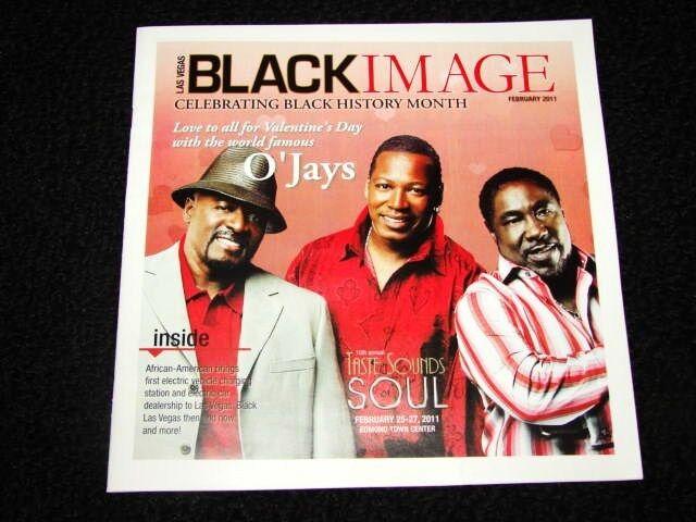 Vegas Black Image Magazine The O