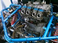 CBR 1000 Bike Engine Complete ideal for quad or buggy