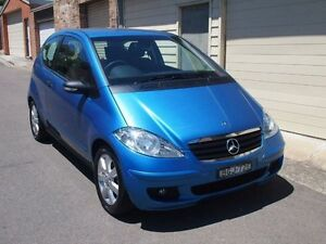 2008 Mercedes-Benz A170 W169 MY08 Classic Ocean Blue 5 Speed Manual Hatchback Petersham Marrickville Area Preview