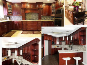 Maple Solid Wood Cabinets, Best Prices Guaranteed!
